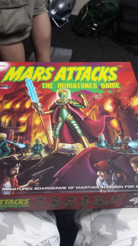 Mars Attack Boxed Set Test 1